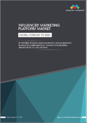 Influencer Marketing Platform Market by Component, Application (Search and Discovery, Campaign Management, Influencer Relationship Management, and Analytics and Reporting), Organization Size, End User, and Region - Global Forecast to 2025