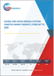 Global and Japan Medical Suction Canister Market Insights, Forecast to 2026