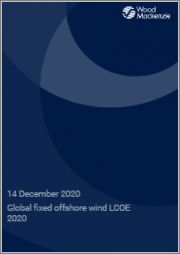 Global Bottom-Fixed Offshore Wind LCOE 2020