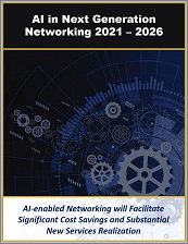 Artificial Intelligence in Next Generation Networking by Infrastructure, Network Type, IoT Solution, Segment (Consumer, Enterprise, Industrial, and Government), and Industry Verticals 2021 - 2026
