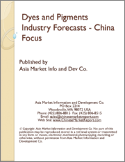 Dyes and Pigments Industry Forecasts - China Focus