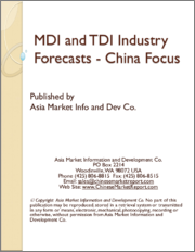 MDI and TDI Industry Forecasts - China Focus