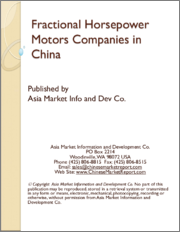 Fractional Horsepower Motors Companies in China