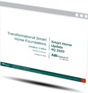 Transformational Smart Home Foundations: Smart Home Bi-Annual Update