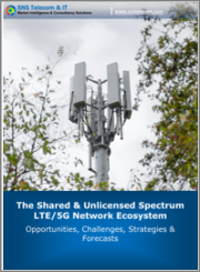 The Shared & Unlicensed Spectrum LTE/5G Network Ecosystem: 2021 - 2030 - Opportunities, Challenges, Strategies & Forecasts
