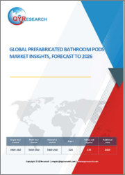 Global Prefabricated Bathroom Pods Market Insights, Forecast to 2026