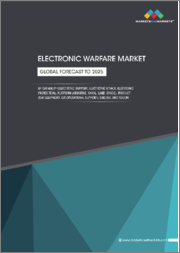 Electronic Warfare Market by Capability (Support, Attack, Protection), Platform (Airborne, Naval, Ground, Space), Product (EW Equipment, EW Operational Support), and Region - Global Forecast to 2025