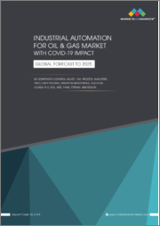 Industrial Automation Oil & Gas Market With COVID-19 Impact, by Component (Control Valves, HMI, Process Analyzers, Intelligent Pigging, Vibration Monitoring), Solutions, Stream and Region - Global Forecast to 2025
