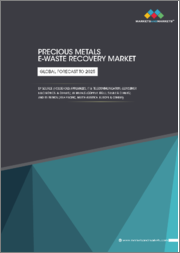 Precious Metals E-Waste Recovery Market by Source(Household Appliances, It & Telecommunication, Consumer Electronics), Metal (Copper, Gold, Silver), & Geography - Global Forecast to 2025