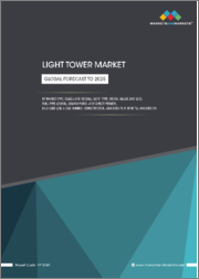 Light Towers Market by Market Type (Sales and Rental), Light Type (Metal Halide and LED), Fuel Type (Diesel, Solar/Hybrid and Direct Power), End-User (Oil & Gas, Mining, Construction, and Events & Sports) and Region - Global Forecast to 2025
