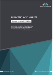 Peracetic Acid Market by Application (Disinfectant, Sterilant, Sanitizer), End-use Industry (Healthcare, Food & Beverage, Water Treatment, Pulp & Paper), and Region (North America, Europe, APAC) - Global Forecasts to 2030