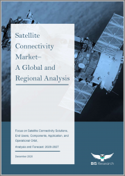 Satellite Connectivity Market - A Global and Regional Analysis: Focus on Satellite Connectivity Solutions, End Users, Components, Application, and Operational Orbit - Analysis and Forecast, 2020-2027