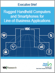 Rugged Handheld Computers and Smartphones for Line-of-Business Applications