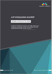 A2P Messaging Market by Component (Platform and A2P Service), Application (Authentication, Promotional and Marketing, and CRM), Deployment Mode, SMS Traffic (National and Multi-Country), End User, and Region - Global Forecast to 2025