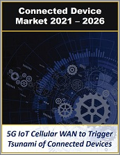 Connected Device Market for Consumer, Enterprise, and Industrial IoT Devices by Use Case, Device Type, Applications, and Industry Verticals 2021 - 2026