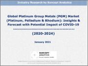 Global Platinum Group Metals (PGM) Market (Platinum, Palladium & Rhodium): Insights & Forecast with Potential Impact of COVID-19 (2020-2024)