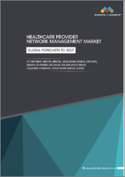 Healthcare Provider Network Management Market by Component (Services, Internal, Outsourcing Services, Software), Delivery (On premise & Cloud), End User (Payer, Private, Public Health Insurers), Region (North America, Europe) - Global Forecasts to 2025