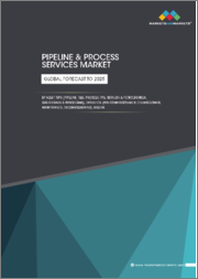 Pipeline & Process Services Market by Asset Type (Pipeline: T&D; Process: FPS, Refinery & Petrochemical, Gas Storage & Processing), Operation (Pre-commissioning & Commissioning, Maintenance, Decommissioning), Region - Global Forecast to 2025