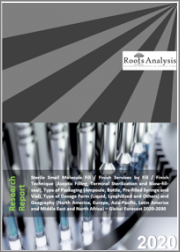 Sterile Small Molecule Fill / Finish Services by Fill / Finish Technique (Aseptic Filling, Terminal Sterilization and Blow-fill-seal), Type of Packaging (Ampoule, Bottle, Pre-filled Syringe and Vial), Type of Dosage Form