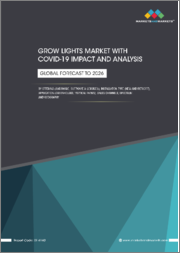 Grow Lights Market with Covid-19 Impact and Analysis by Offering (Hardware, Software & Services), Installation Type (New and Retrofit), Application (Greenhouses, Vertical Farms), Sales Channels, Spectrum, and Geography - Global Forecast to 2026