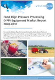 Food High Pressure Processing (HPP) Equipment Market Report 2020-2030: Forecasts by Solution Type (Horizontal, Vertical), by Applications, Regional and Leading National Market Analysis, Leading HPP Companies, COVID-19 Recovery Scenarios