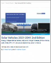Solar Vehicles 2021-2041 2nd Edition