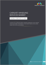 Catalyst Handling Services Market by Service Type (Loading/Unloading, Screening, Transport), End-use Industry (Petroleum Refining, Petrochemical), Region (North America, APAC, Europe, Middle East & Africa, South America) - Global Forecast to 2025