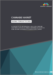 Cannabis Market by Application (Medical and Recreational), Product Type (Flowers and Concentrates), Compound (THC-dominant, CBD-dominant, and Balanced THC & CBD), and Region (North America, South America, Europe, and RoW) - Global Forecast to 2026
