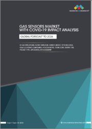 Gas Sensors Market with COVID-19 Impact Analysis by Gas Type(Oxygen, Carbon Monoxide, Carbon Dioxide, Nitrogen Oxide, Volatile Organic Compounds, Hydrocarbons), Technology, Output Type, Product Type, Application, and Geography - Global Forecast to 2026