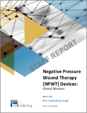 Negative Pressure Wound Therapy (NPWT) Devices: Global Markets