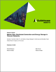 Market Data - Distributed Generation and Energy Storage in Telecom Networks - Gensets, Fuel Cells, Solar PV, and Battery Energy Storage for Continuous and Standby Power: Global Market Analysis and Forecasts