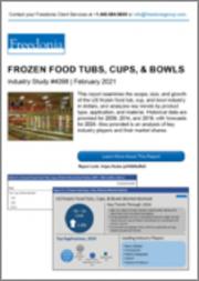 Frozen Food Tubs, Cups, & Bowls (US Market & Forecast)