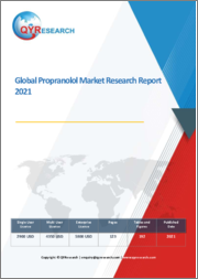 Global Propranolol Market Research Report 2021