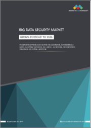 Big Data Security Market by Component, by Software, Deployment Type, Organization Size (Large Enterprise, SMEs), Vertical, and Region (North America, Europe, APAC, MEA, Latin America) - Global Forecast to 2026