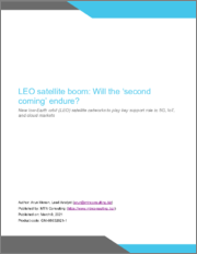 LEO Satellite Boom: Will the 'Second Coming' Endure? New Low-Earth Orbit (LEO) Satellite Networks to Play Key Support Role in 5G, IoT, and Cloud Markets