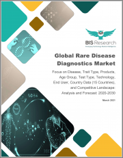 Global Rare Disease Diagnostics Market: Focus on Disease, Trait Type, Products, Age Group, Test Type, Technology, End User, Country Data (15 Countries), and Competitive Landscape - Analysis and Forecast, 2020-2030