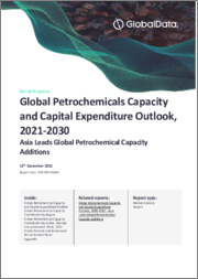 Global Petrochemicals Capacity and Capital Expenditure Outlook to 2030 - China and India Leads Global Petrochemical Capacity Additions