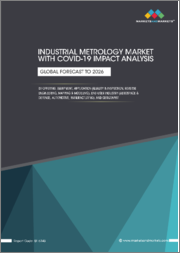 Industrial Metrology Market with COVID-19 Impact Analysis by Offering, Equipment, Application (Quality & Inspection, Reverse Engineering, Mapping & Modelling), End-User Industry, Geography - Global Forecast to 2026