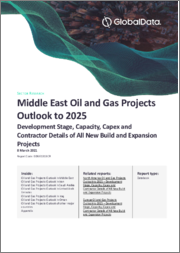 Middle East Oil and Gas Projects Outlook to 2025 - Development Stage, Capacity, Capex and Contractor Details of All New Build and Expansion Projects