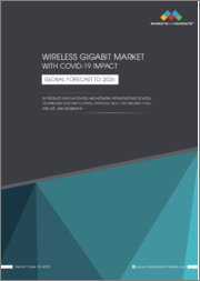 Wireless Gigabit Market with COVID-19 impact by Product (Display Devices and Network Infrastructure Devices), Technology (SoC and IC Chips), Protocol (802.11ad and 802.11ay), End Use, and Geography - Global Forecast to 2026