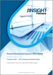 Research Department Explosive (RDX) Market Forecast to 2027 - COVID-19 Impact and Global Analysis By Type (Explosives, Pyrotechnics, and Others) and Application (Military and Civilian)