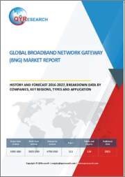 Global Broadband Network Gateway (BNG) Market Report, History and Forecast 2016-2027