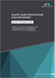 Plastic Injection Molding Machine Market by Machine Type (Hydraulic, All-Electric and Hybrid), Clamping Force (0-200 Tons Force, 201-500 Tons Force and Above 500 Tons Force), End-Use Industry and Region - Global Forecast to 2025