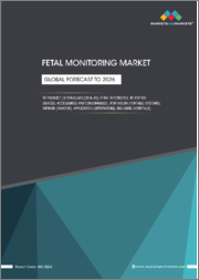 Fetal Monitoring Market by Product (Ultrasound (3D & 4D), Fetal Electrodes, Telemetry Devices, Accessories and Consumables), Portability (Portable Systems), Method (Invasive), Application (Antepartum), End User (Hospitals) - Global Forecast to 2026