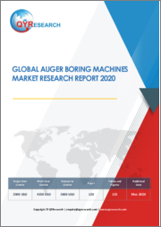 Global Auger Boring Machines Market Research Report 2021