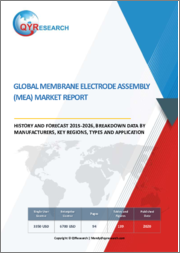 Global Membrane Electrode Assembly (MEA) Market Report, History and Forecast 2015-2027