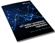 LEO Satellite Constellations and Broadband Access Implications
