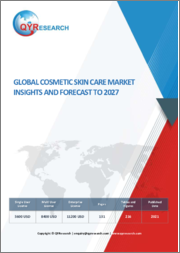 Global Cosmetic Skin Care Market Insights and Forecast to 2027