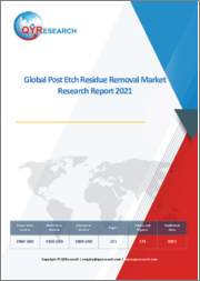 Global Post Etch Residue Removal Market Research Report 2021