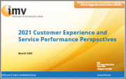 2021 Customer Experience and Service Performance Perspectives Report